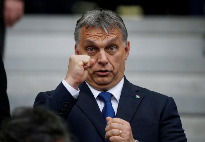 Le premier ministre hongrois Viktor Orbán, le 22 juillet 2016. © Reuters