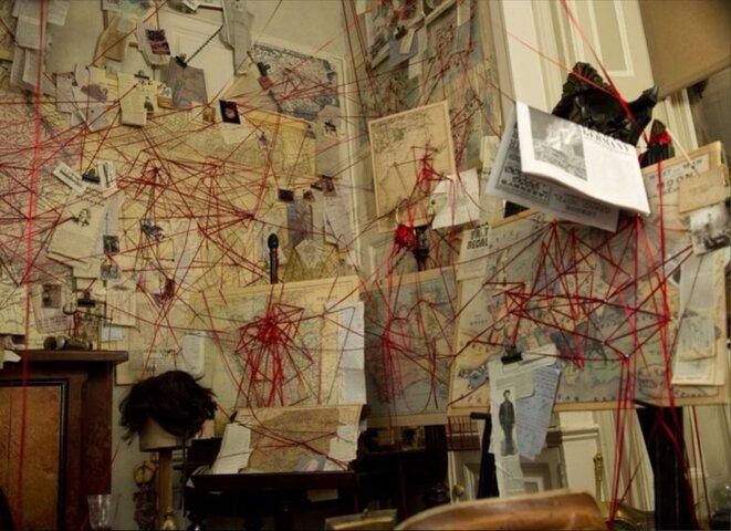 Sherlock Holmes office