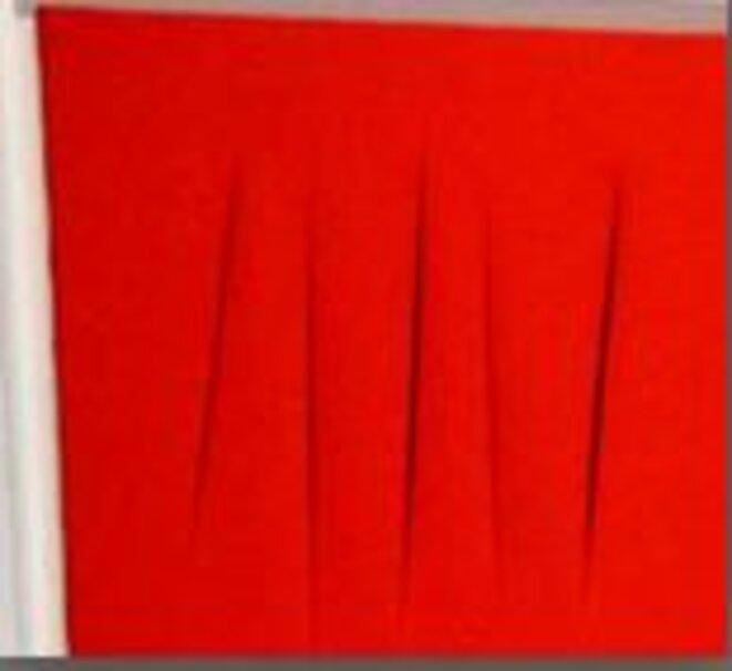 fontana-dechirure-rouge