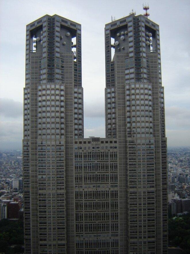 Kenzo Tange, Mairie de Tokyo, 1990