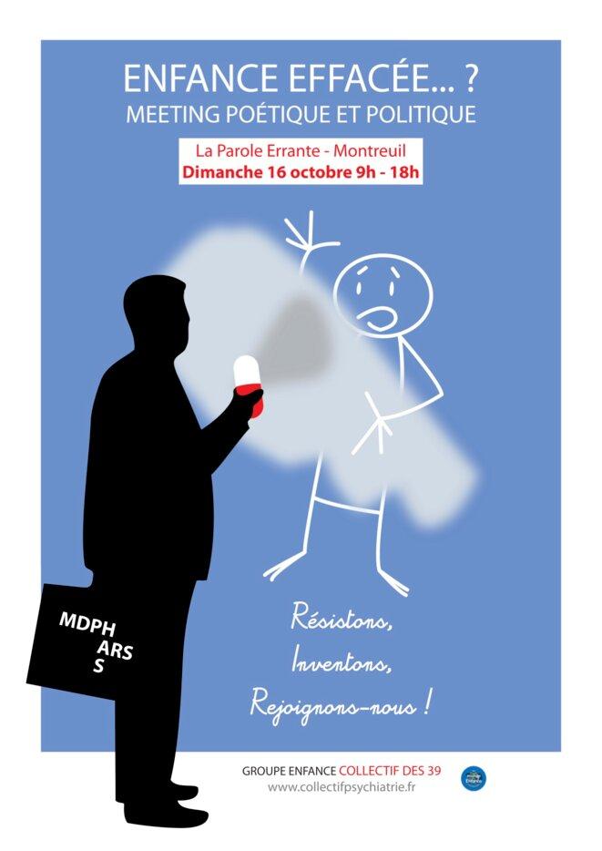 Meeting Enfance effacée..? © Collectif des 39