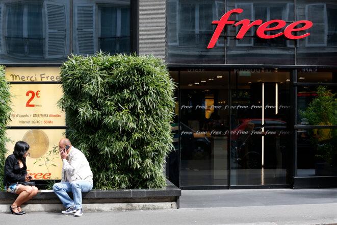 Le siège du groupe Iliad-Free, en 2014 © Reuters - Charles Platiau