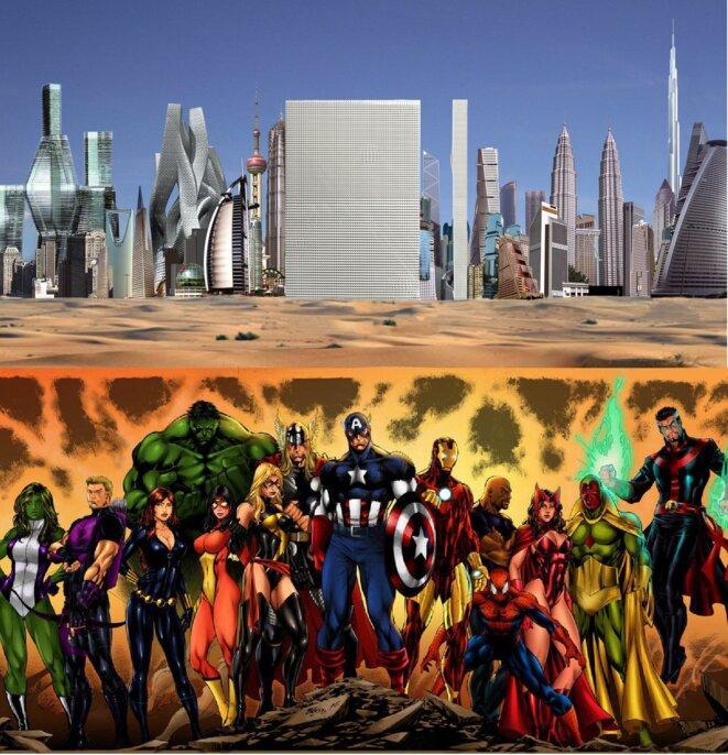 Rem Koolhaas, Dubai Renaissance / Avengers, Marvel