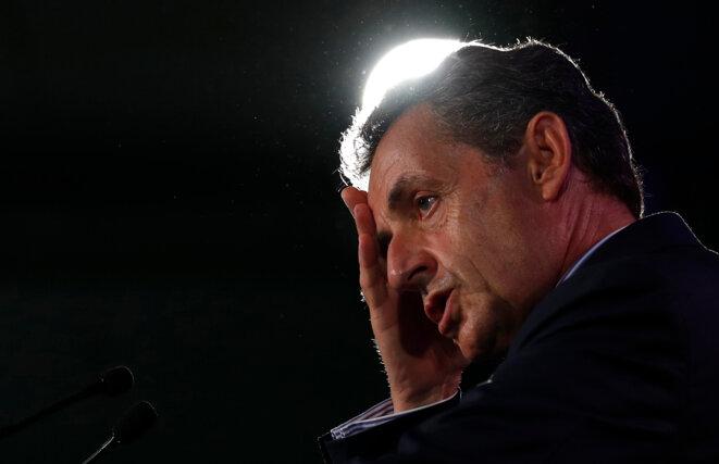 Nicolas Sarkozy, le 6 septembre 2016. © Reuters
