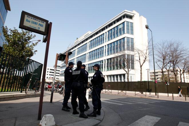 Siège de la DGSI, à Levallois-Perret (Hauts-de-Seine). © Reuters