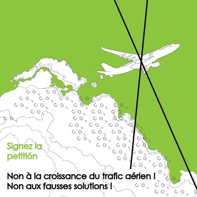 Signez la pétition : https://france.attac.org/se-mobiliser/changeons-systeme-pas-climat/article/petition-le-secteur-aeronautique-doit-reduire-ses-emissions-pas-les-compenser