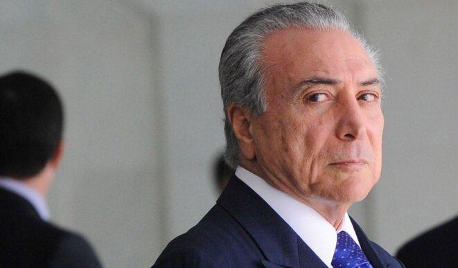 Michel Temer, président du Brésil depuis la destitution de Dilma Rousseff en août.