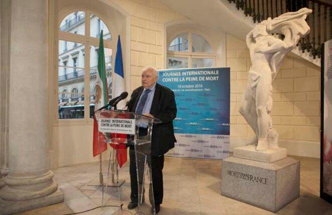 Me Henri Leclerc, président d'honneur de la ligue des droits de l'Homme © csdhi