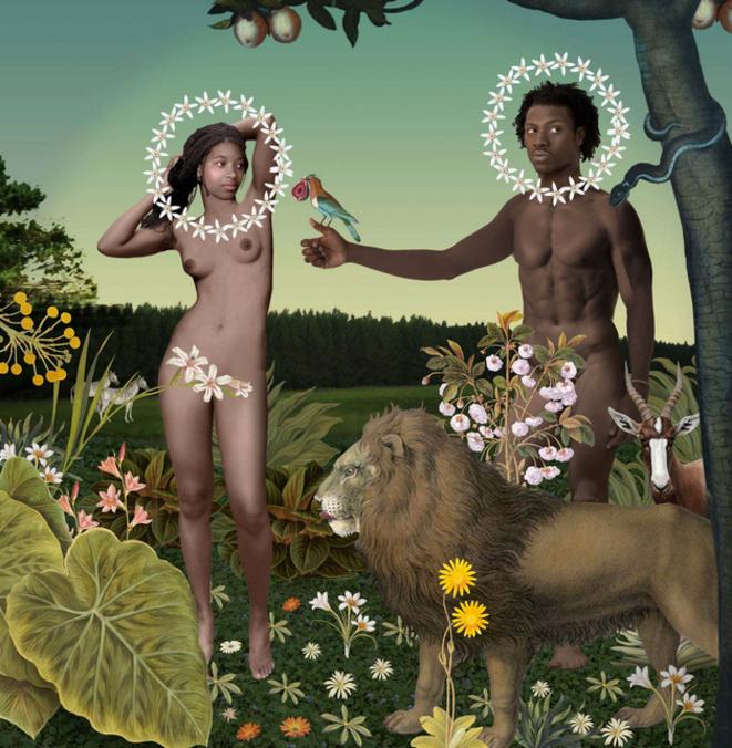 Karin Miller : « Adam et Ève » (2010)