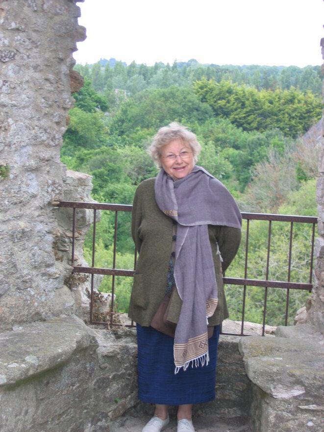 Anne-Marie Houdebine, 2008 © Valérie Brunetière