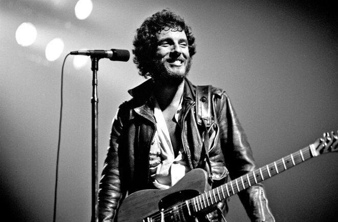 Bruce Springsteen, en 1975.