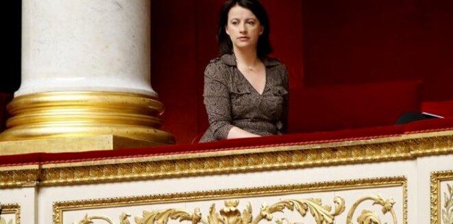 Cécile Duflot à l'Assemblée © reuter