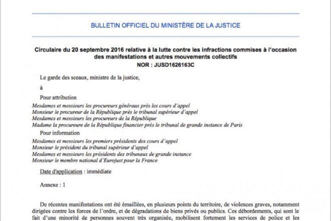 Bulletin officiel - ministère de la justice