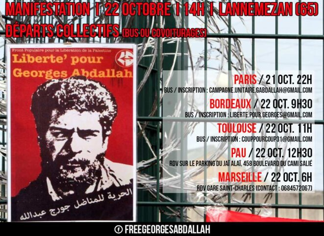 Liberté pour George Ibrahim Abdallah