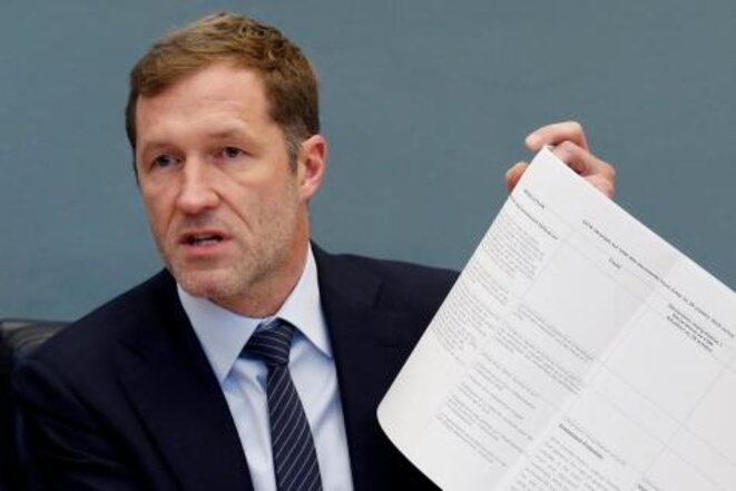 'Non': Walloon leader Paul Magnette rejects the CETA deal in its current form. © Reuters