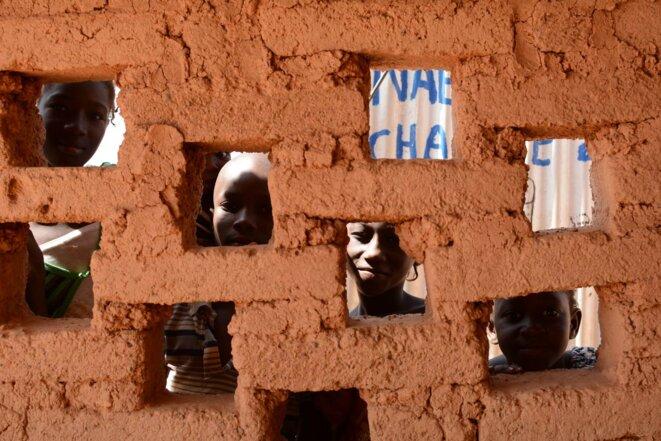 Vieux quartier à Ouagadougou, 26 décembre 2015 © Mark Baugé