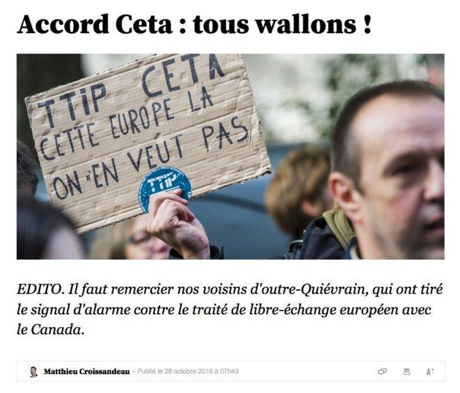 Edito de Matthieu Croissandeau dans l'Obs