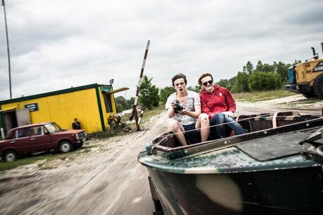 Slavoutych 2015 (près de Tchernobyl). © Niels Ackermann/ lundi 13