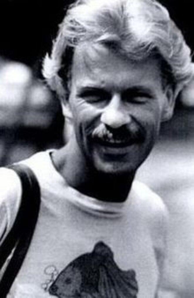 """Gaëtan Dugas, le """"patient zéro"""", décédé en 1984 © DR"""