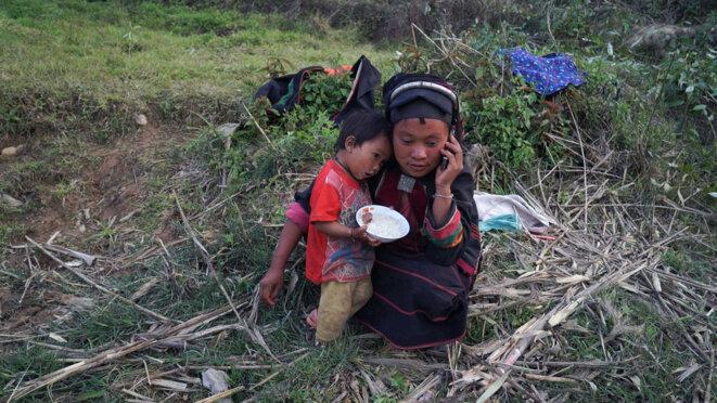 Une image de «Ta'ang, Un peuple en exil entre Chine et Birmanie »