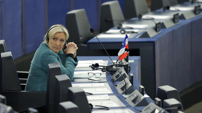 Payback time for Marine Le Pen? © Reuters