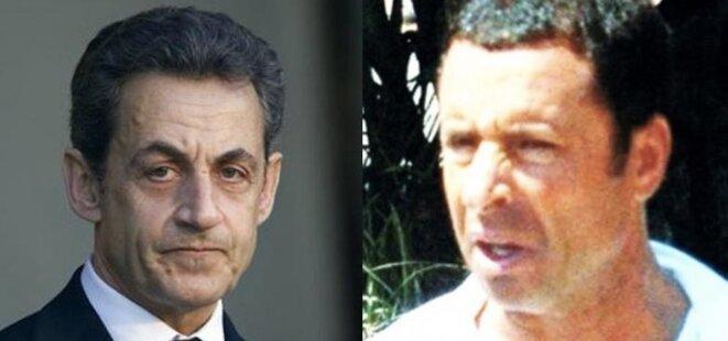 Nicolas Sarkozy et Alexandre Djouhri.