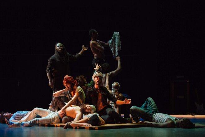 """Scène de """"Nkenguegi"""" © Samuel Rubio"""