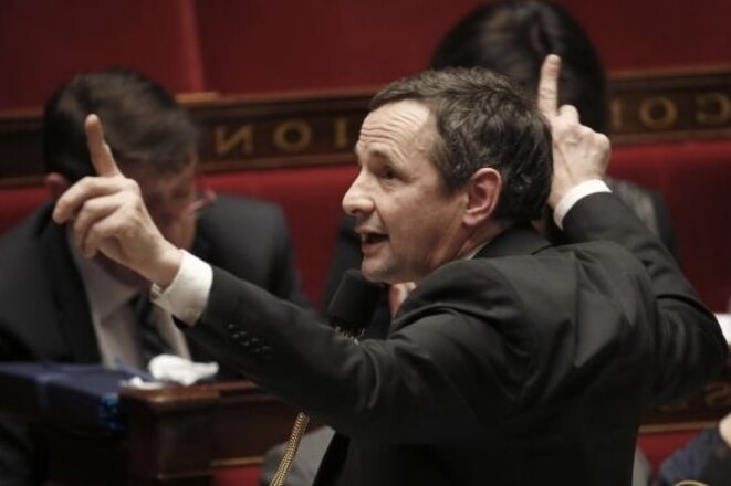 Thierry Mandon à l'Assemblée © Reuters/Charles Platiau
