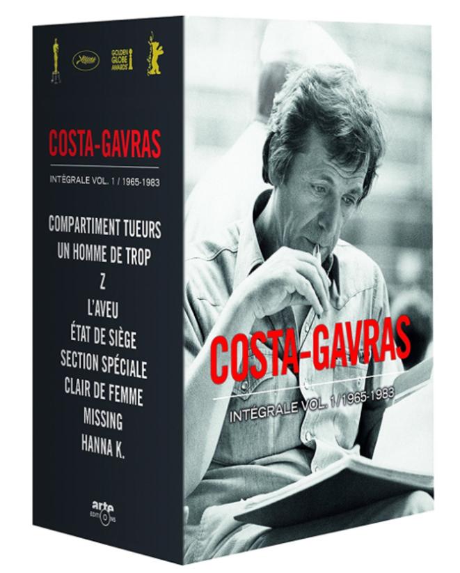 Le coffret de l'Intégrale 1965-1983 de Costa-Gavras