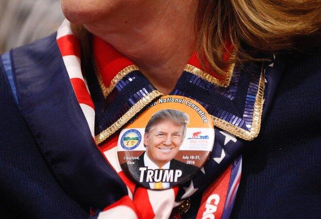 En la convención republicana, julio de 2016. © Reuters