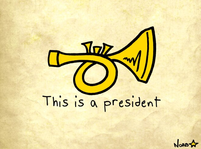 This is a president © Norb