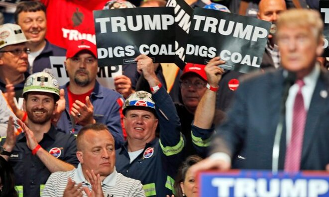 Trump veut encourager l'esploitation du charbon !