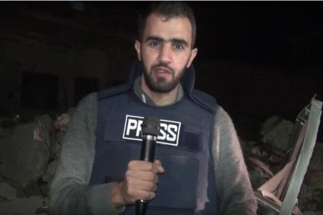 """Hadi Abdullah, """"Journaliste de l'année"""" © Copy d'écran YouTube"""