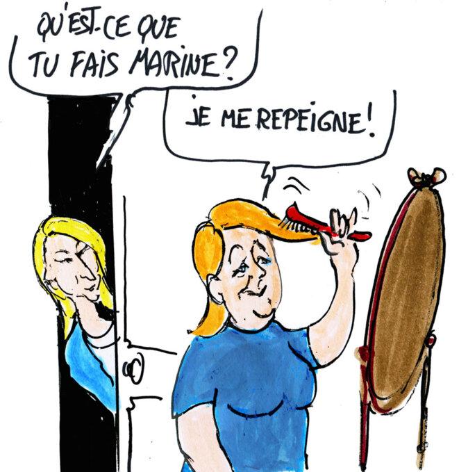 Le Pen © Calvi