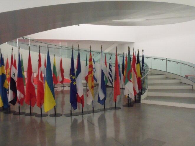 Vingt pays représentés, 300 intervenants, 3000 participants aux rencontres, échanges sur les grands enjeux économiques dans les pays de la Méditerranée, de l'Orient et de l'Afrique. © Philippe Léger