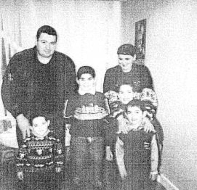 Famille Delay avant l'arrestation