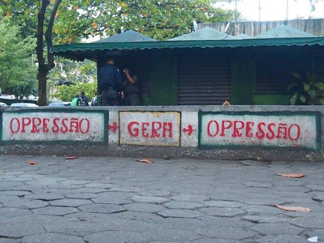 Station de métro de Botafogo, juin 2013 © Luc Aldon