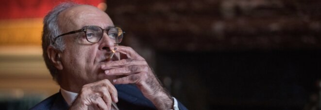 Money bagman: Ziad Takieddine says he took Libyan cash to Nicolas Sarkozy. © Pedro Da Fonseca/Premières Lignes