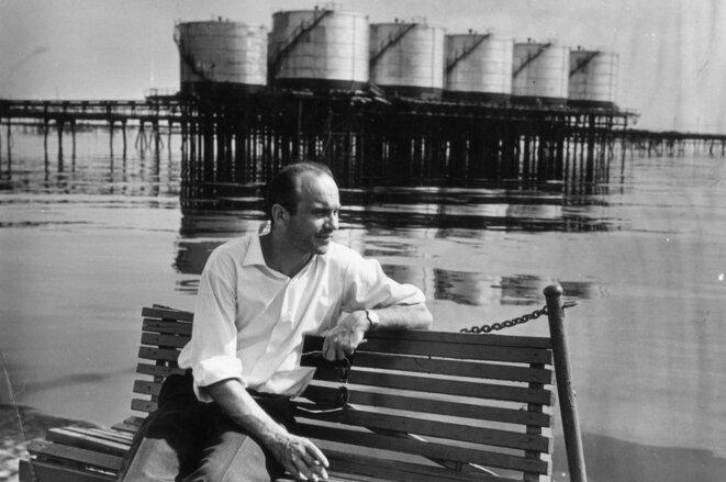 Ryzsard Kapuściński à Baku, Azerbaijan, 1967 © Fundacja im. Ryszarda Kapuścińskiego - Herodot, 2015