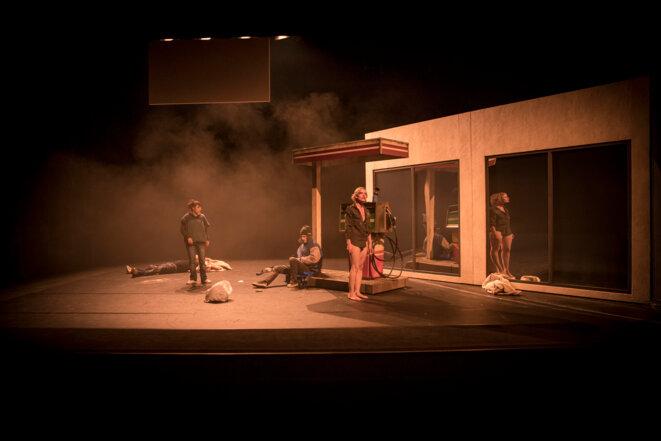 """Scène de """"Anti-corps"""" © Nicolas Joubard"""