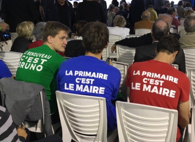 Meeting de Bruno Le Maire