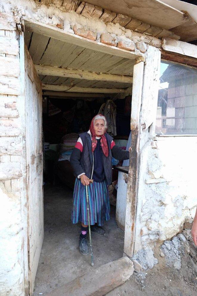Dans un village rom près de Tarnaveni © Philippe Simon