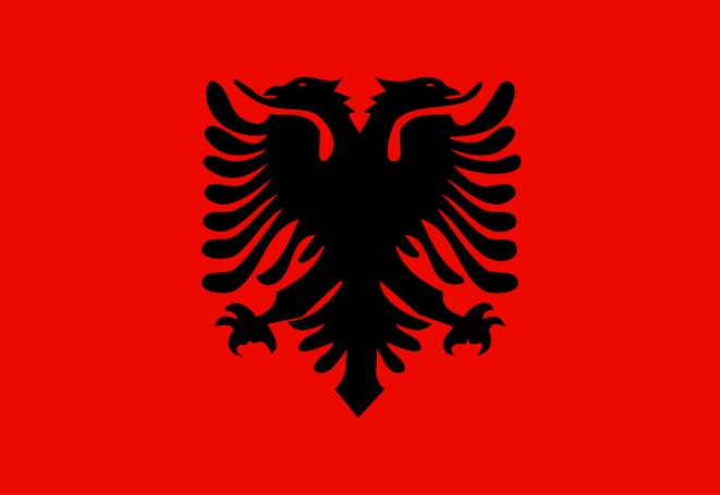 drapeau-albanais-rouge-et-noir