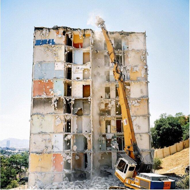 Extrait de « Marseille, face nord » © Yohanne Lamoulère / La France VUE D'ICI