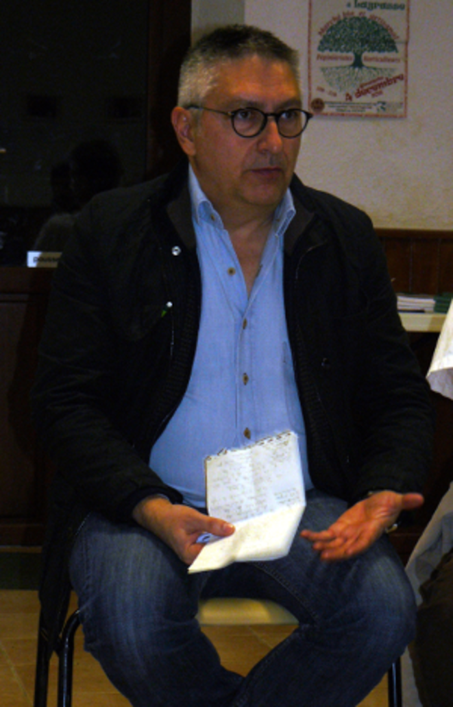 Alberto Arricruz, co-coordinateur du Cercle Podemos de Paris.