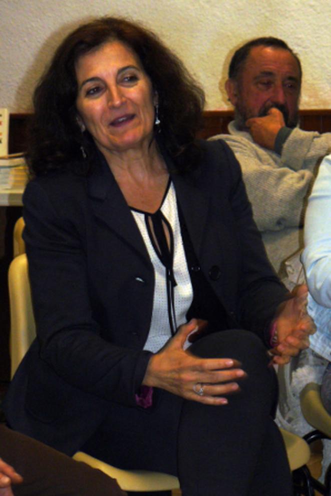 Lola Banon, conseillère en communication de la Comunitat Valenciana.