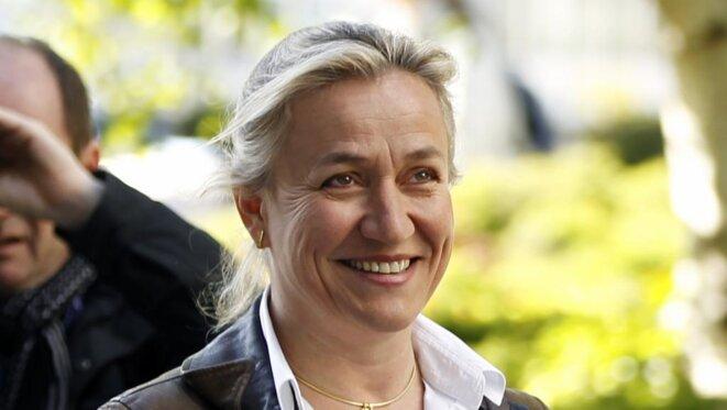 Irène Frachon, arrivant au tribunal de Nanterre, le 14 mai 2012 © REUTERS/Charles Platiau