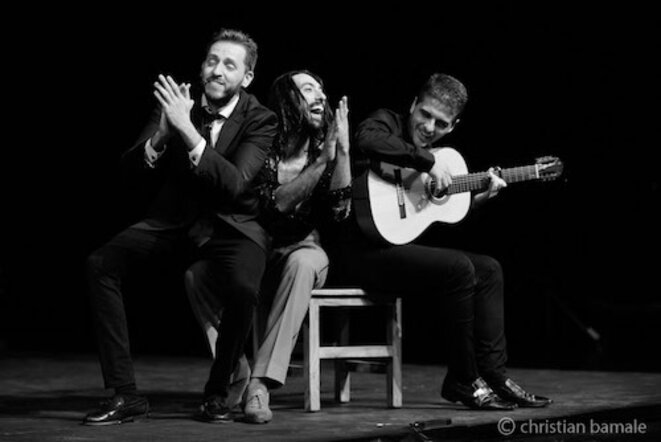 Manuel Soto, Eduardo Guerrero et Javier Ibañez pour une fin de fiesta originale © Christan Bamale