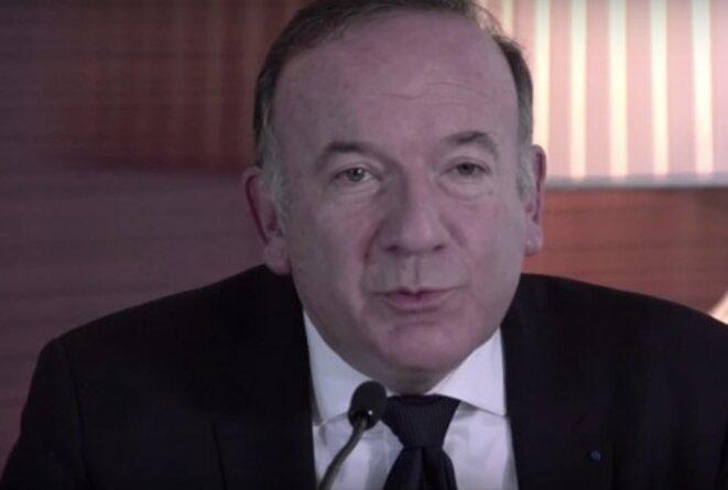 Pierre Gattaz, l'actuel président du Medef.