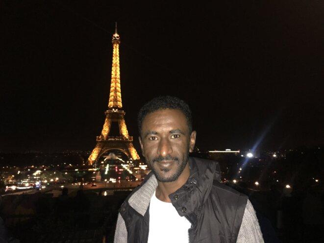 Bashir en transit à Paris. © IC
